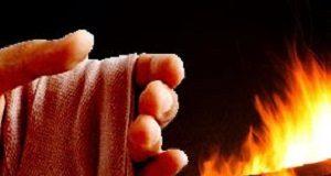 Mão e fogo