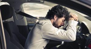 Dormindo no volante