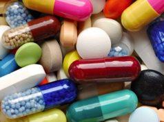 Cápsulas e comprimidos diversos